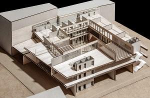 Maqueta de arquitectura #4