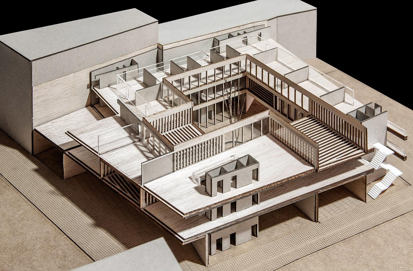 maqueta arquitectura museo arquimaqueta