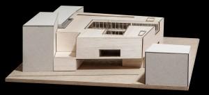 Maqueta de Arquitectónica una Biblioteca #4
