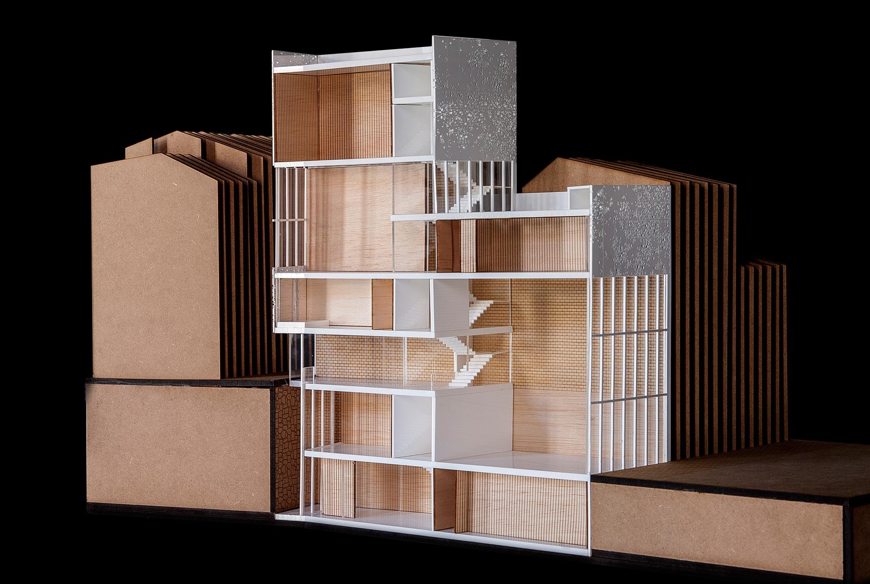 Maqueta arquitectura seccionada arquimaquetaarquimaqueta for Arquitectura de madera