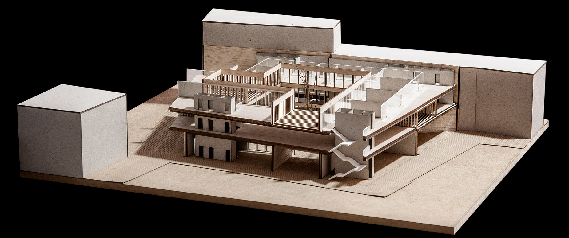 maqueta-arquitectura-architecture model-valencia-maqueta pfc-ETSAV-Biblioteca-arquimaqueta (4)